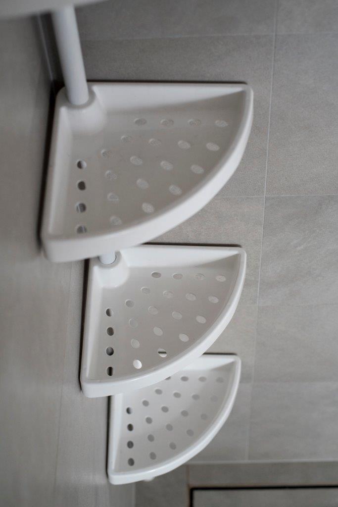 Półka łazienkowa Narożna Welacompl
